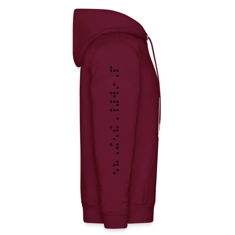 Made Braille Sleeve Hoody - Men's Hoodie