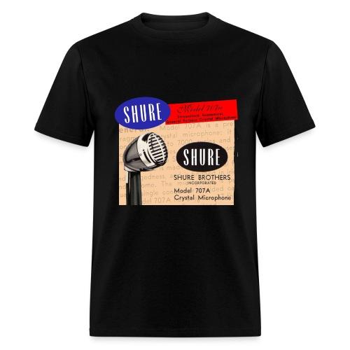 707A Bullet Mic Shirt - Men's T-Shirt