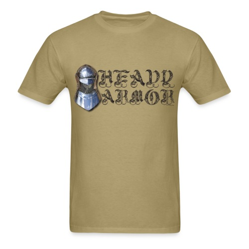 Heavy Armor Standard T - Men's T-Shirt