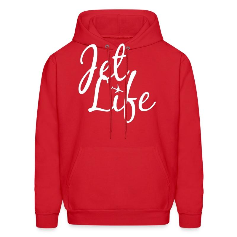 Jet Life (White) Hoodie - Men's Hoodie