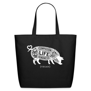 Words to Live By - Tote - Eco-Friendly Cotton Tote