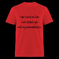T-Shirts ~ Men's T-Shirt ~ Seduction Technique