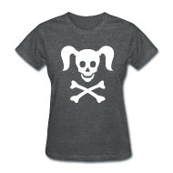Women's T-Shirts ~ Women's T-Shirt ~ Girlie Pirate
