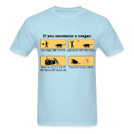 T-Shirts ~ Men's T-Shirt ~ DIY: Cougar Handling
