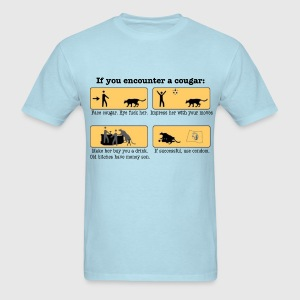 DIY Cougar Hunting - Men's T-Shirt