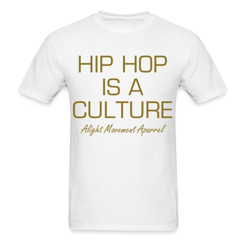 Culture White/Gold Tee - Men's T-Shirt