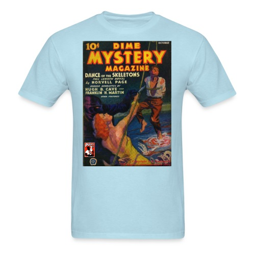 Dime Mystery Oct 1933 - Men's T-Shirt