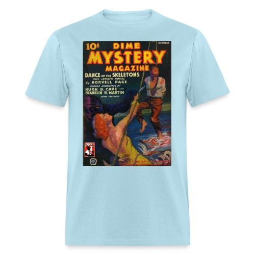 Dime Mystery Oct 1933 - Men's T-Shirt