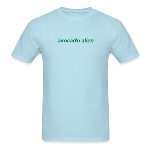 Avocado Alien Veggie T-Shirt - Men's T-Shirt