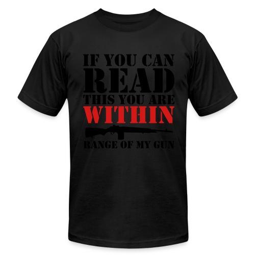 Gun Range - Men's Fine Jersey T-Shirt