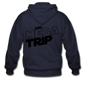 King Megatrip x The Force (Light) - Men's Zip Hoodie