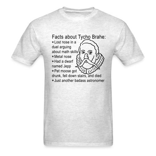 Tycho Brahe - Men's T-Shirt