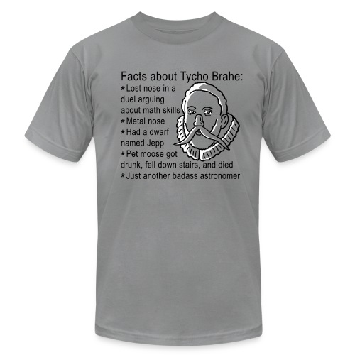 Tycho Brahe - Men's Fine Jersey T-Shirt