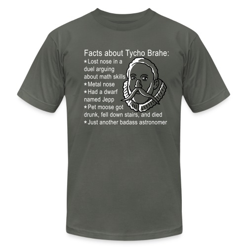Tycho Brahe - Men's T-Shirt by American Apparel