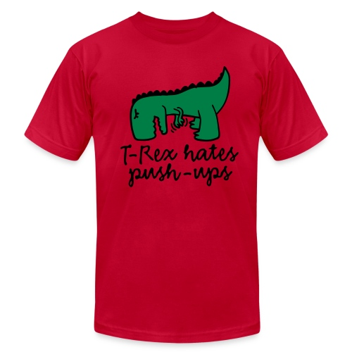 Funny t-rex - Men's Fine Jersey T-Shirt