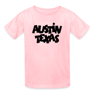 Kids' Shirts ~ Kids' T-Shirt ~ Austin Texas Kid's T-Shirt