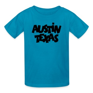Austin Texas Kid's T-Shirt - Kids' T-Shirt