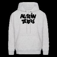 Hoodies ~ Men's Hoodie ~ Austin Texas Hoodie