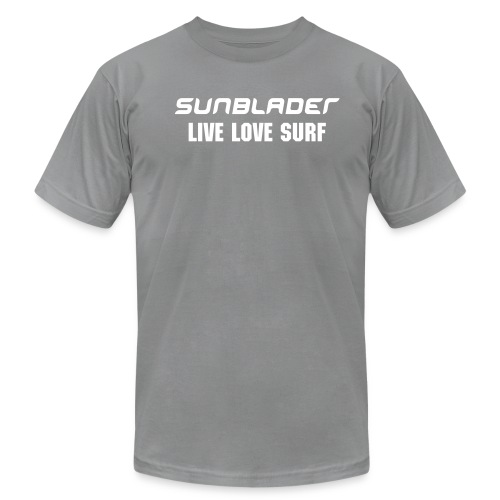 Sunblader LIVE LOVE SURF - Men's Fine Jersey T-Shirt