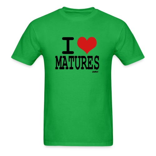 I heart Matures - Men's T-Shirt