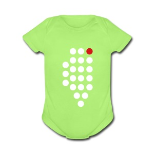 Chicago, IL - Baby - Short Sleeve Baby Bodysuit