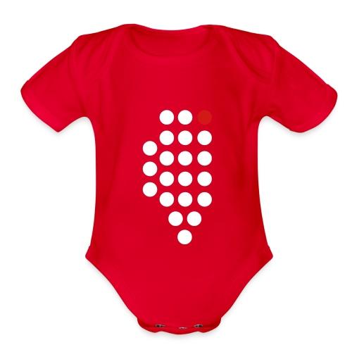 Chicago, IL - Baby - Organic Short Sleeve Baby Bodysuit