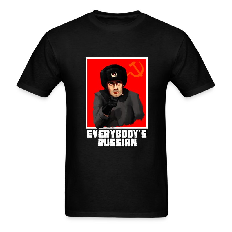 Everybody's Russian! - Men's T-Shirt