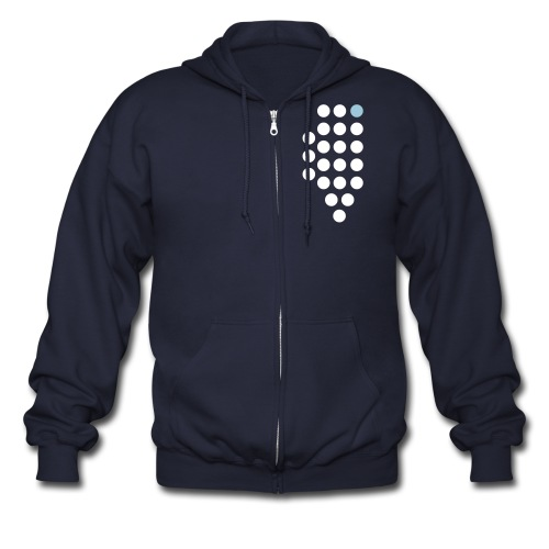 Chicago, IL - Jacket - Men's Zip Hoodie