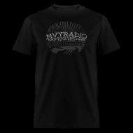 T-Shirts ~ Men's T-Shirt ~ mvyradio Artist Names - distressed