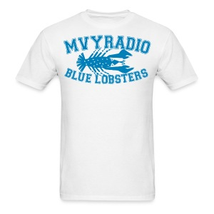 mvyradio blue lobsters - Men's T-Shirt