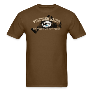 T-Shirts ~ Men's T-Shirt ~ Vineyard Radio -- Out there, way out there