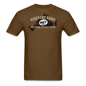 Vineyard Radio -- Out there, way out there - Men's T-Shirt
