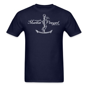 mvyradio - Martha's Vineyard anchor - Men's T-Shirt