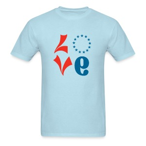 Philly Basketball Love Shirt - V2 - Men's T-Shirt