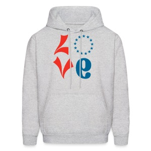 Philly Basketball Love Sweatshirt - V2 - Men's Hoodie