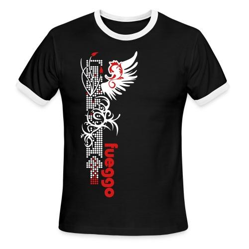 Wings on digtal Art - Men's Ringer T-Shirt