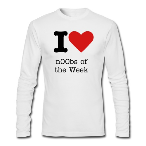 n00bs - Men's Long Sleeve T-Shirt by Next Level