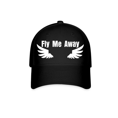 Fly me Away Hat black - Baseball Cap