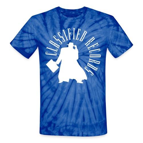 Classified Records Tie-Dye T - Unisex Tie Dye T-Shirt