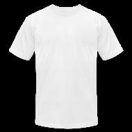T-Shirts ~ Men's T-Shirt by American Apparel ~ Men's Hidden Hand Flex Print Street Style T-shirt