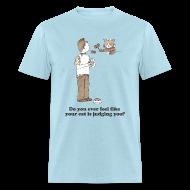 T-Shirts ~ Men's T-Shirt ~ Kitty Judgement