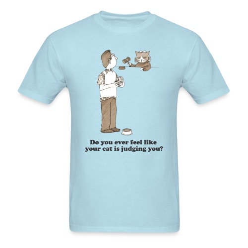 Kitty Judgement - Men's T-Shirt