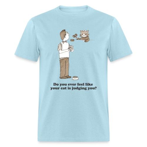 Kitty Judgement - Men's T-Shirt