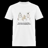 T-Shirts ~ Men's T-Shirt ~ Kitty Judgement 2
