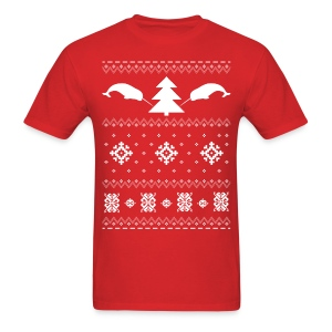 Narwhal Christmas Sweater - Men's T-Shirt