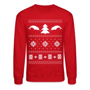 Narwhal Christmas Sweater - Crewneck Sweatshirt