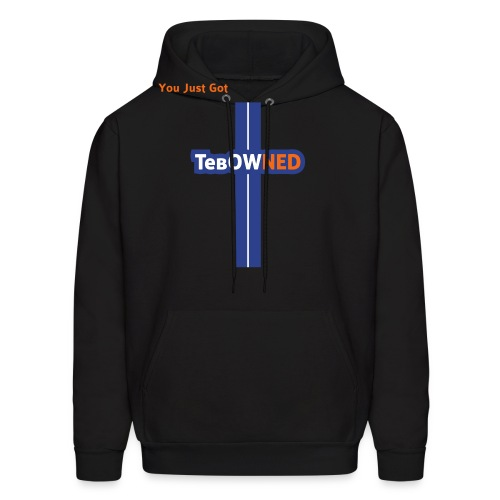 Tebow Tribute - TebOWNED Crucifix - Mens Hoody - Men's Hoodie