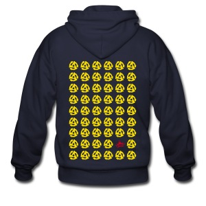 Multiple 45's v.2 - Men's Zip Hoodie