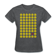 T-Shirts ~ Women's T-Shirt ~ Multiple 45's v.2