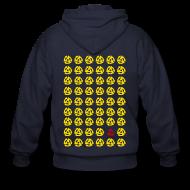 Zip Hoodies & Jackets ~ Men's Zip Hoodie ~ Multiple 45's v.1
